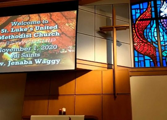 Worship Service November 1, 2020